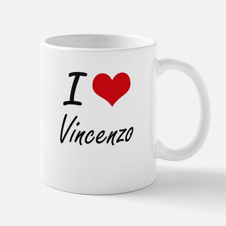 I Love Vincenzo Mugs