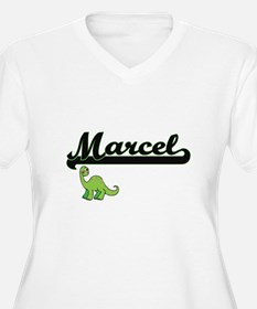 Marcel Classic Name Design with Plus Size T-Shirt