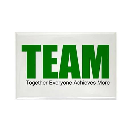 TEAM Rectangle Magnet (100 pack)