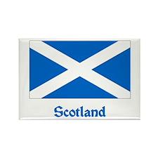 Scotland Flag Rectangle Magnet (100 pack)