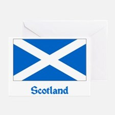 Scotland Flag Greeting Cards (Pk of 10)