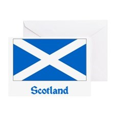 Scotland Flag Greeting Card
