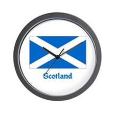 Scotland Flag Wall Clock