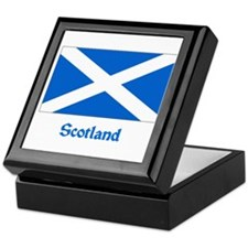 Scotland Flag Keepsake Box
