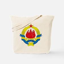 Yugoslavia Coat of Arms 1963 Tote Bag