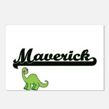 Maverick Classic Name Des Postcards (Package of 8)