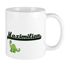Maximilian Classic Name Design with Dinosaur Mugs