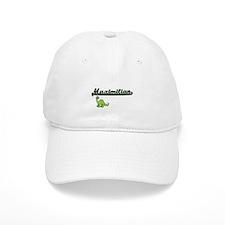 Maximilian Classic Name Design with Dinosaur Baseball Cap