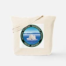 Environmental Polar Bear New Jersey Tote Bag
