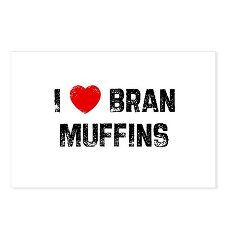 I * Bran Muffins Postcards (Package of 8)