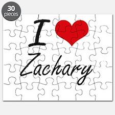 I Love Zachary Puzzle