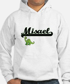Misael Classic Name Design with Hoodie