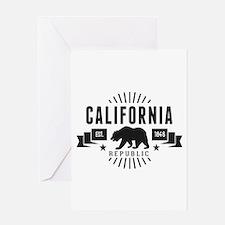 California Republic Greeting Cards