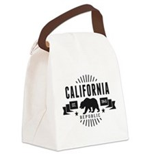 California Republic Canvas Lunch Bag