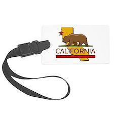 California Republic Luggage Tag