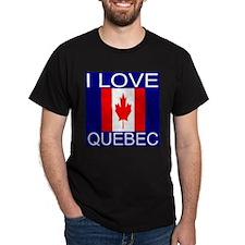 I Love Quebec T-Shirt