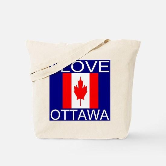 I Love Ottawa Tote Bag