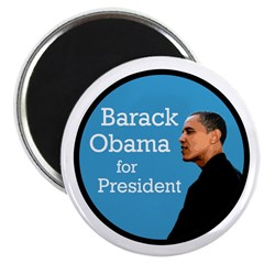 Barack Obama for President Magnet