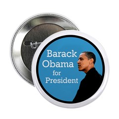 Ten Barack Obama for President Buttons