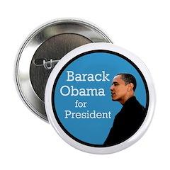 Ten Barack Obama for President Buttons