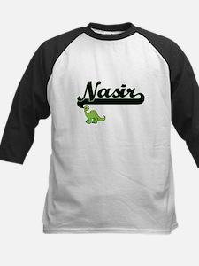 Nasir Classic Name Design with Din Baseball Jersey