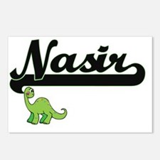 Nasir Classic Name Design Postcards (Package of 8)