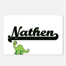 Nathen Classic Name Desig Postcards (Package of 8)