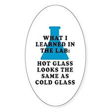 Lab Glass Decal