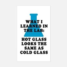 Lab Glass Sticker (Rectangle)
