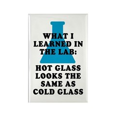 Lab Glass Rectangle Magnet