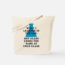 Lab Glass Tote Bag