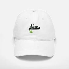 Noe Classic Name Design with Dinosaur Baseball Baseball Cap