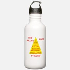 New Mexico Food Pyramid Water Bottle