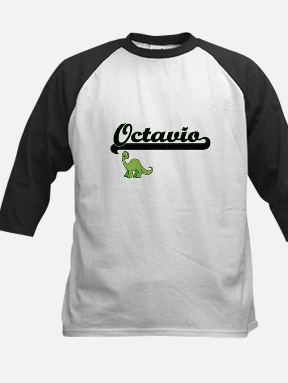 Octavio Classic Name Design with D Baseball Jersey