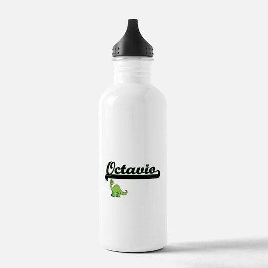 Octavio Classic Name D Sports Water Bottle