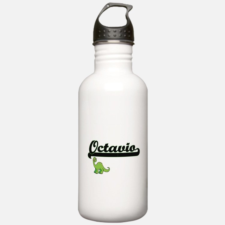 Octavio Classic Name D Sports Water Bottle