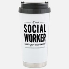 Funny Social worker Thermos Mug