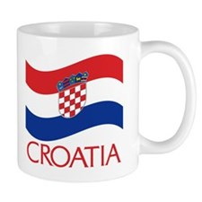 Croatia Waving (C) Mug