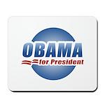 Obama for President Mousepad