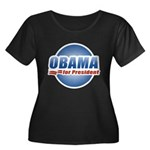 Obama for President Women's Plus Size Scoop Neck D