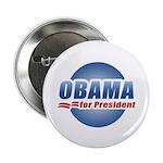 Obama for President Button