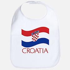 Croatia Waving (C) Bib