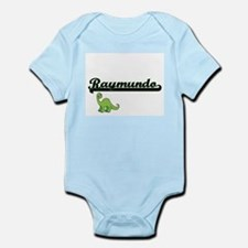Raymundo Classic Name Design with Dinosa Body Suit