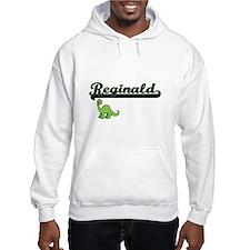 Reginald Classic Name Design wit Hoodie