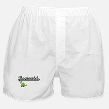 Reginald Classic Name Design with Din Boxer Shorts