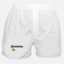 Remington Classic Name Design with Di Boxer Shorts