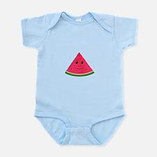 Smiling cartoon Watermelon Body Suit