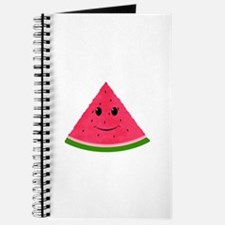 Smiling cartoon Watermelon Journal