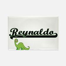 Reynaldo Classic Name Design with Dinosaur Magnets