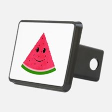 Smiling cartoon Watermelon Hitch Cover